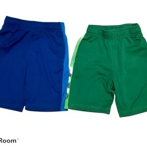 Joe Fresh Blue and Green Boys Summer Shorts.